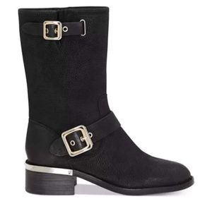Vince Camuto Shoes - Vince Camuto Gold Buckle Boots